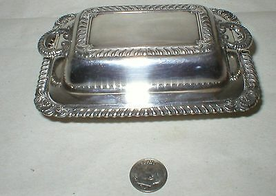 E. G. WEBSTER SILVERPLATE COVERED DISH, 1886-1928,