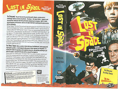 "Lost In Space Columbia House VHS ""The Challenge"" & ""The Space Trader"" (1995)"