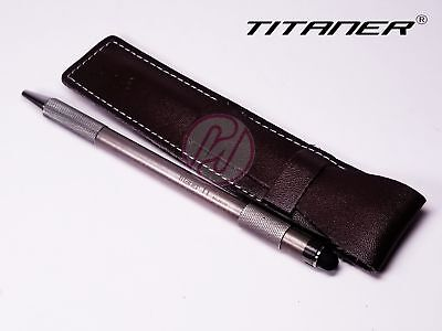 TITANER ED01 Titanium TC4 Tungsten Tactical Ti Touch Screen Stylus Ballpoint Pen