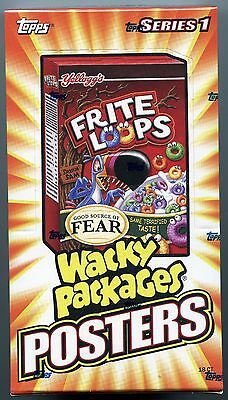 WACKY PACKAGES Series 1  Poster Box  2012 Topps  Posters s-1 factory sealed Box