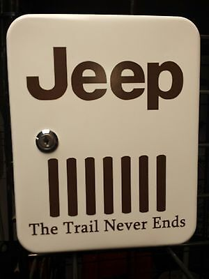 Jeep The Trail Never Ends Nostalgic Advertising Key Box
