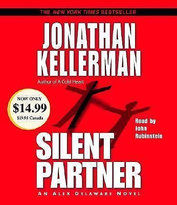 Silent Partner No. 4 by Jonathan Kellerman (2003, CD, Abridged)