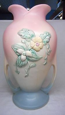 Hull Pottery Large Vase Mint Condition Wildflower, made in 1946