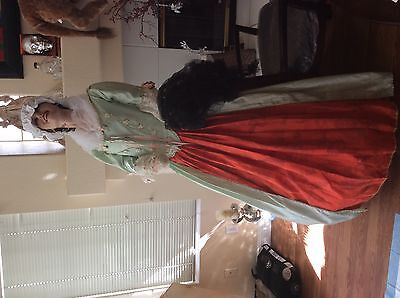 Colonial,rennisance style dress,costume connection for UNIVERSAL STUDIOS ret$799