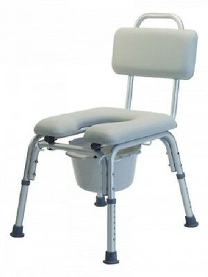 Lumex Padded Commode Bath Tub Bench Shower Seat 7946A
