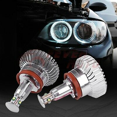 Fit BMW M3 E60 E70 32W Ring Marker LED White Light High Power Angle Eye Halo FM