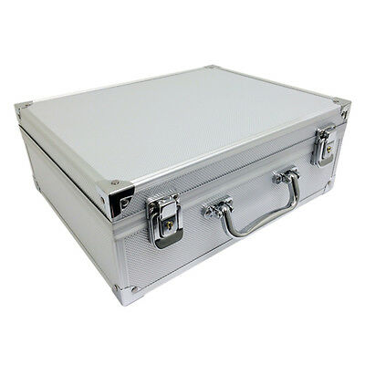 Tattoo Kit Case Portable Storage Lock Traveling Convention Carry Bag Aluminum