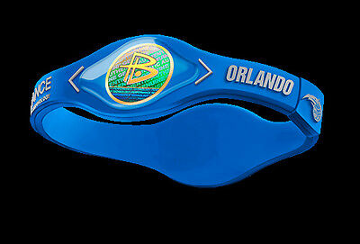 POWER BALANCE ENERGY HOLOGRAM BRACELETS NBA ORLANDO MAGIC