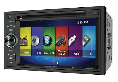 "Soundstream VR-64H2B 2 DIN CD/DVD Player 6.2"" Bluetooth Android MobileLink 8.2"