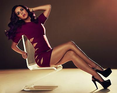 "KATY PERRY 8X10 COLOR PHOTO  ""HOT LEGS, SEXY POP STAR"""""