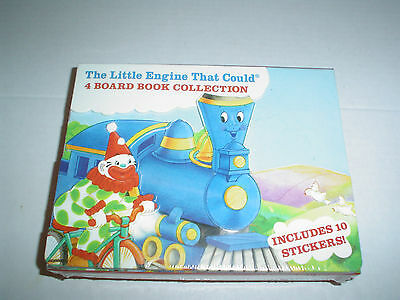 The Little Engine That Could 4 Board Book Collection Carrycase New