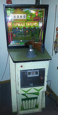 1971 Jungle Drums arcade shooting game from Williams