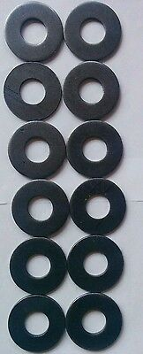 """12 fractional weight plates Micro 1"""" Barbell 1/3 - 2/3 - 1 - 1 1/3 - 1 2/3 - 2"""