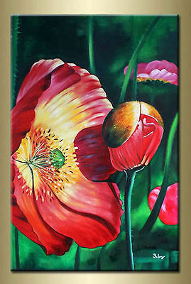 Yuhong Smiling Flower hand painted Floral oil painting bestbid_mall A405