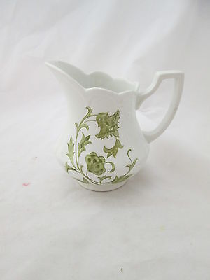 ROYAL STAFFORDSHIRE WINDSONG IRONSTONE CREAMER  J&S MEAKIN ENGLAND GORGEOUS