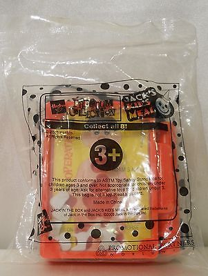 """JACK IN THE BOX 2003 KID'S MEAL """"OPERATION"""" GAME - NIP"""