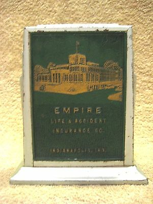 Vintage Still Bank Empire Life & Accident Insurance Indianapolis Indiana