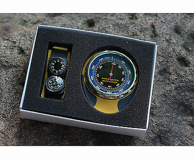 Digital Altimeter Barometer Compass Thermometer for Outdoor Camping Hiking
