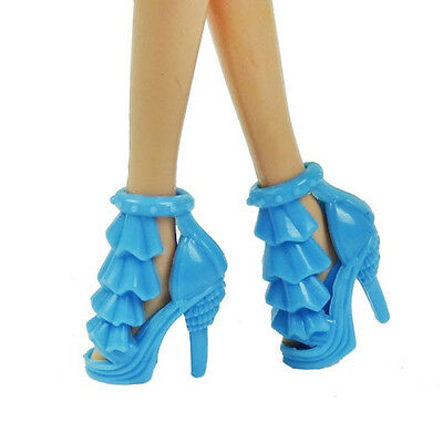 2015 new cute boots shoes for Barbie Doll heels Party a119