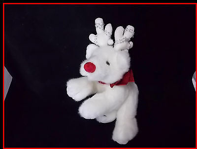 Blitzy Plush White Reindeer Russ Stuffed Animal Deer Beautiful Soft Toy