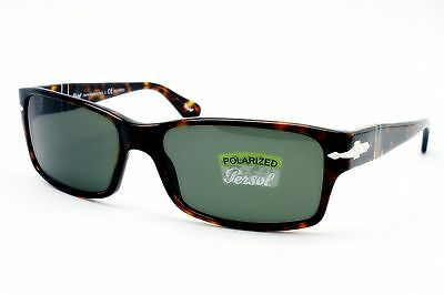 PERSOL Sunglasses Brand New Authentic Model PO 2803 24/58 Havana POLARIZED 58mm
