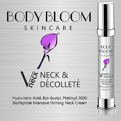 Neck & Decollete Firming Anti Wrinkle Cream With Matrixyl 3000 & Hyaluronic Acid