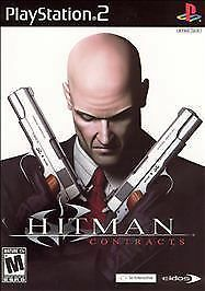 Hitman: Contracts  (Sony PlayStation 2, 2004) Nice Manual & Case