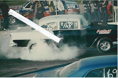 """1973 Drag Racing-1955 Chevy """"AGONY"""" & 1970 Duster """"RIDDLER""""-Cecil County,Md."""