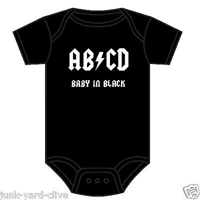 My Auntie Rocks Gift BabyGrow Playsuit Baby Grow Funny Present Vest Music Unisex