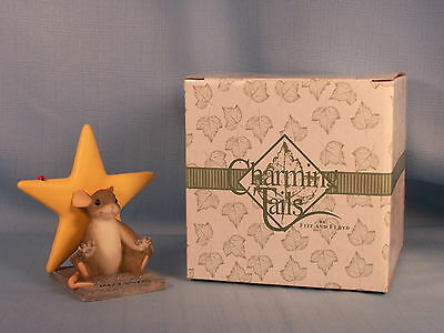 CHARMING TAILS - A STAR IN THE MAKING - #82/117 - 2002 LIMITED EDITION