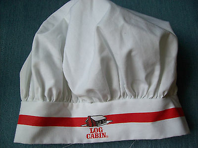 Log Cabin bakers hat