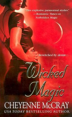Wicked Magic-Cheyenne McCray-steamy paranormal romance-Combined shipping
