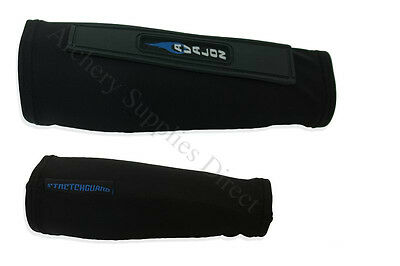 Avalon Archery Armguard Sleeve Black Sizes X-Small - X-Large