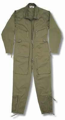 New Pilots Flight Suit Continental Aviators Flying Coverall Raf Boilersuit Olive