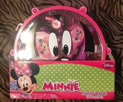 New Disney's Minnie Mouse Cool toy Drum Set Playset unisex kids / girls 3 +
