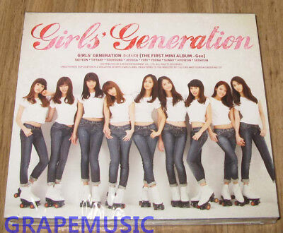 SNSD GIRLS' GENERATION Gee Mini Album K-POP CD SEALED