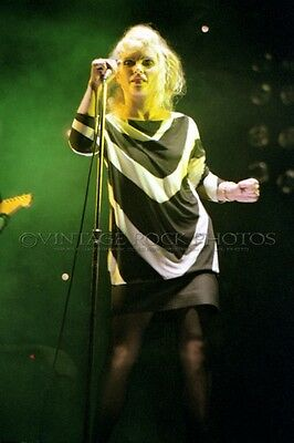 Deborah Harry Blondie Photo 8x12 or 8x10 inch '80s Live Concert Pro Fuji Print 3