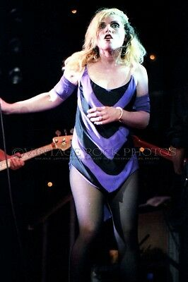 Deborah Harry Blondie Photo 8x12 or 8x10 in '80s Live Concert Pro Fuji Print 14