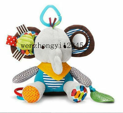 Baby Infant Preferred Soft Appease Towel Toys Calm Doll Teether Elephant