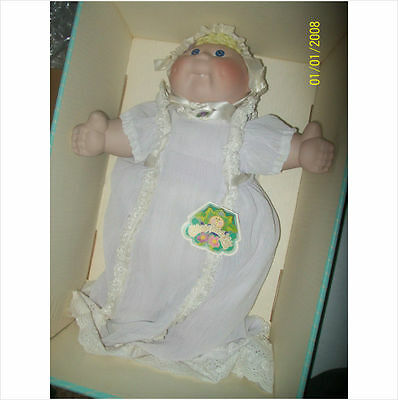 CABBAGE PATCH PORCELAIN DOLL GIRL JENNIFER ALICE by APPLAUSE