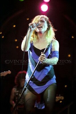 Deborah Harry Blondie Photo 8x12 or 8x10 in '80s Live Concert Pro Fuji Print 22