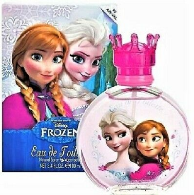 Frozen Disney  3.4 Oz / 100 Ml Nib Edt Spray For Girl