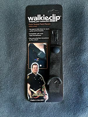 Tactical Mic WalkieClip Epaulet Holder Shirt Attachment Police/Fire/EMT Radio
