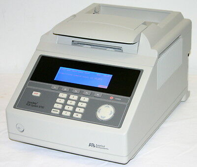 Applied Biosystems Abi Geneamp Pcr System 9700 96 Well Alum Block Thermal Cycler