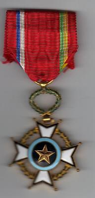 Order Medal   Central African Republic Order of MERIT  KNIGHT  5th Class