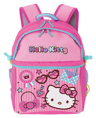 NEW AUTHENTIC SANRIO HELLO KITTY SCHOOL BOOK BAG BACKPACK