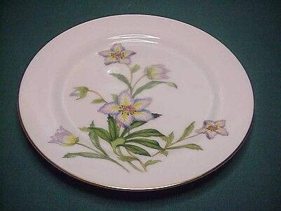 "NARUMI CHINA JAPAN CRESTWICK 451 BEAUTIFUL SALAD PLATE 7 1/2"" #4"