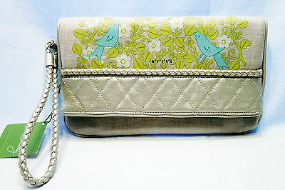 Vera Bradley Sunset Clutch Sittin' in a Tree New with Tags