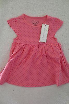 First Impression Baby Girl Polka Dot Tunic  Top Size 18 Month New cute