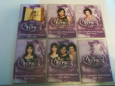 Charmed - The Complete FIRST Season (DVD, 2005, 6-Disc Set) COMPLETE